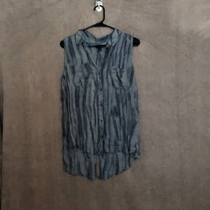 NWOT 👚 Rock and Republic Tank Blue